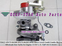 Free Ship TD025 49173 06500 49173 06603 98102367 Turbo Turbine For OPEL For Vauxhall Astra Corsa Combo Meriva Y17DT 1.7L CDTI