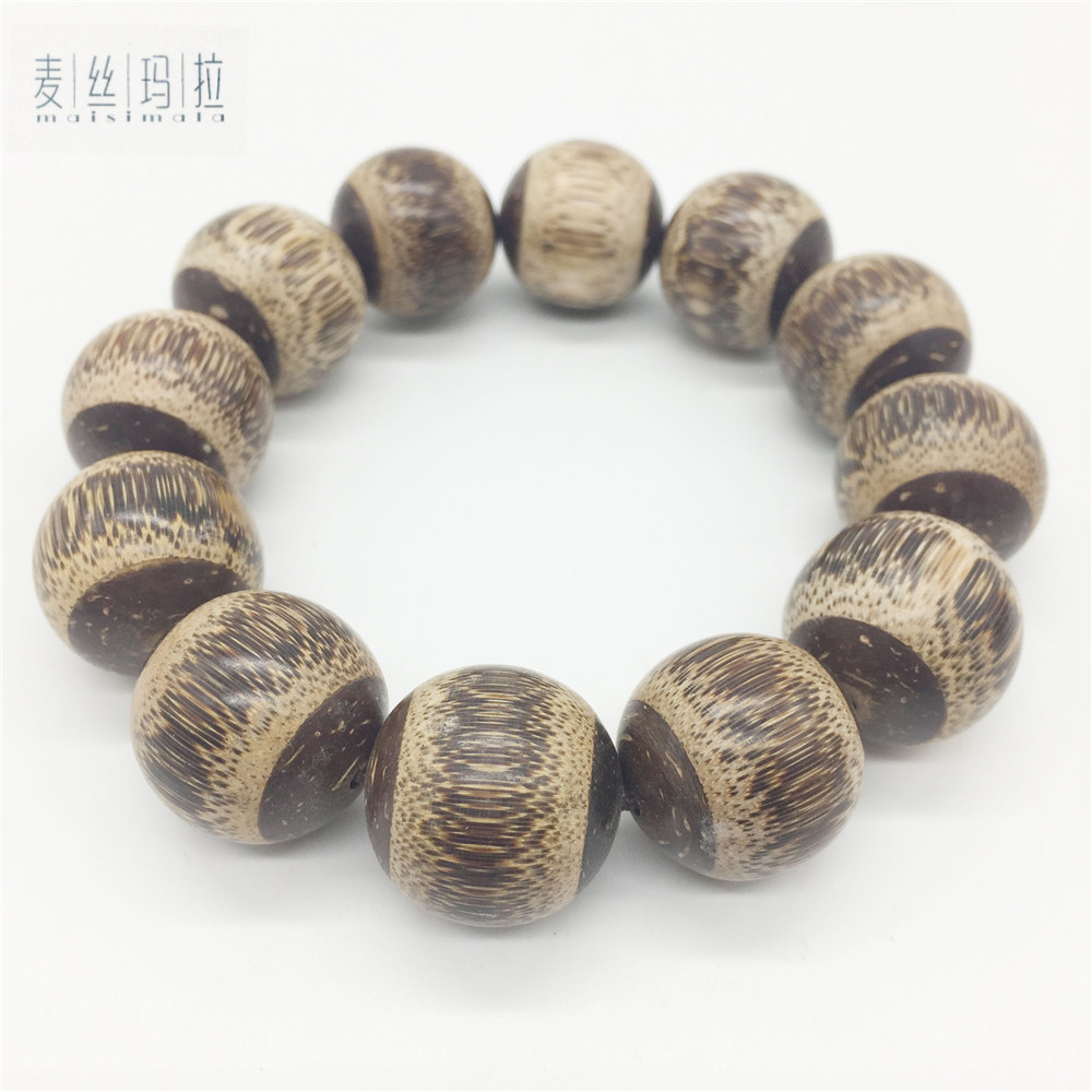 Handmade Diy Brand Jewelry Natural Bamboo Natural Color Skretch Fashion Men Trendy Bracelets 2018 New Making Jewellery