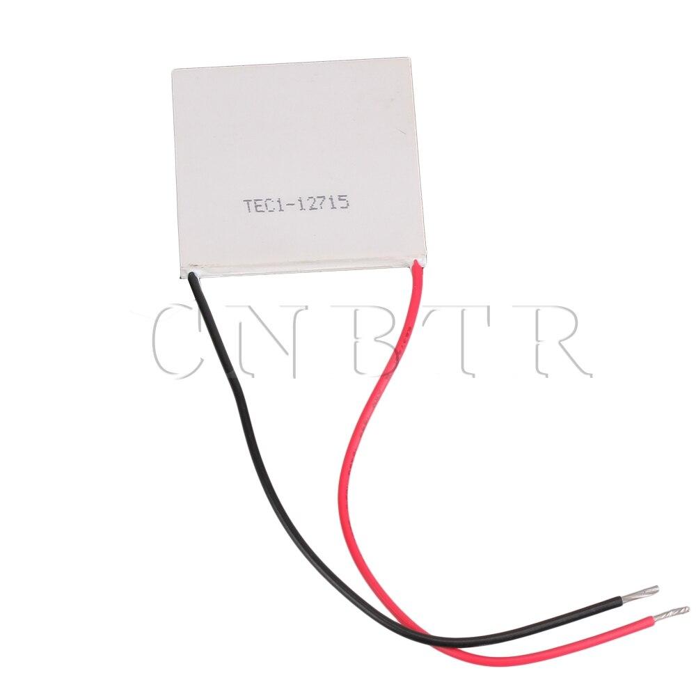 CNBTR TEC1 12715 TEC Ceramic Thermoelectric Cooler Peltier