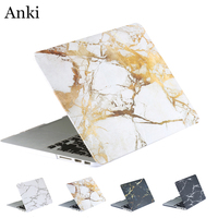 Marble Grain Matte Hard Laptop Cover Case For Apple Mac MacBook Air 11 13 Pro 13