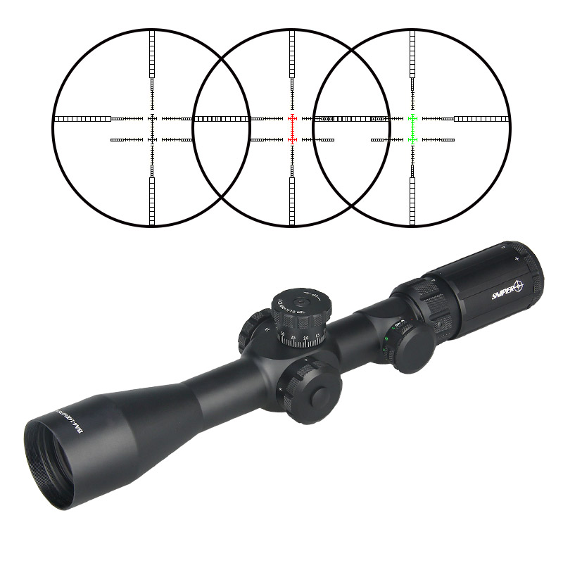 Military Tactical BA4-14X44FPSAL Rifle Scope FFP Riflescope for Hunting Shooting Competition CL1-0301B canislatrans military two style tactical tm4 5 18x40 4 5x 18x magnification rifle scope for hunting cl1 0287