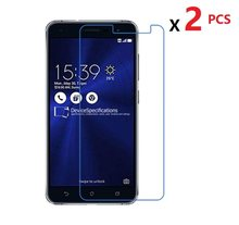 2 PCS High Clear Screen Protector For Asus Zenfone 3 MAX Zenfone 3 Deluxe Glossy Film Protector Guard For Zenfone 2 Laser 2E(China)