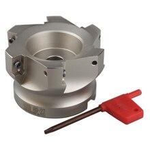 Miễn phí Vận Chuyển BAP400R 80 27 6T Mặt Phay Cutter Công Cụ Đối Với APMT1604PDER Carbide Chèn Thích Hợp Cho Máy NC/CNC
