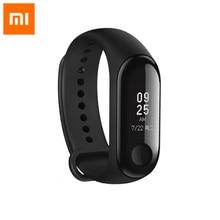 Original Xiaomi mi band 3 miband3 0.78 OLED Big screen waterproof 5TAM heart rate monitor 2.5D glass Smart Wristbands Bracelet