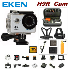 100% Oryginalny EKEN H9R remote camera control 4 K wifi Ultra HD 1080 p 60fps 170D wodoodporna kamera sport mini cam