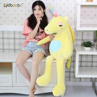 Jumbo 110/140cm Stuffed Animal Baby Dolls Kawaii Cartoon Rainbow Unicorn Plush toys Kids Present Toy Children Baby Birthday Gift