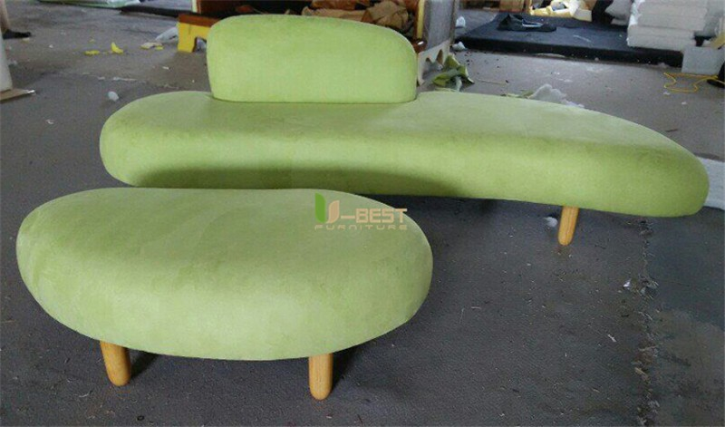 noguchi sofa with ottoman fabric sofa u-best sofa (3)