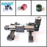 MJUNIT Speeiality designing rectangle wheel linear rail/LINEAR MOTION GUIDE