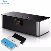 Alarm Clock Portable Wireless Bluetooth Speaker Big Power 8w Subwoofer Stereo Hifi Speakers With Mic FM