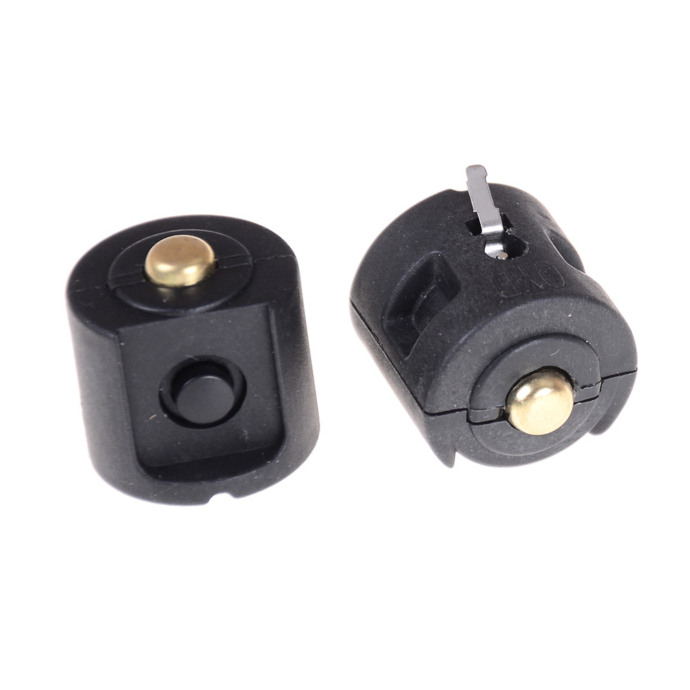 1PC Button Switches 22mm Diameter Round/Plane Button Switches Flashlight Central Switch Middle Parts