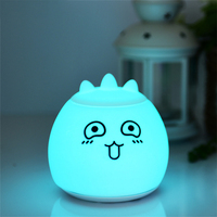 LED drop face table lamp Rechargeable version Night Lights with color changeable function for Bar or Living room decoration
