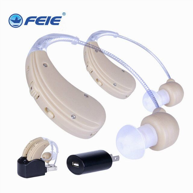 Headphones for Sound Amplification Rechargeable Ear S-109S Bte Apparecchio Acustico Hearing Aids Double Deaf Devices Dropship s 109s rechargeable ear hearing aid mini device sordos ear amplifier hearing aids in the ear for elderly apparecchio acustico
