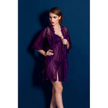 Erotic Lingerie Hollow Nightdress Sexy Lace Large Size Three Point Pajamas Temptation Set