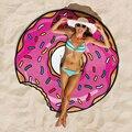 Guiño Gal 2016 Ronda Toalla de Playa Cover Up Moda Impreso Forma Creativa toalla De Playa Boho Manto de Dibujos Animados Alfombra de Baño W10185