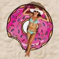 Wink Gal 2016 Redonda Toalha de Praia Cover Up Moda Impresso toalha de Praia Para a Forma Criativa Boho Tapete Dos Desenhos Animados Manto Swimwear W10185