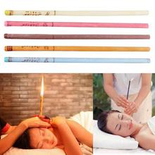 10pcs/set indian ear candle Healthy care treatment wax removal cleaner Ears coning therapy fragrance candling
