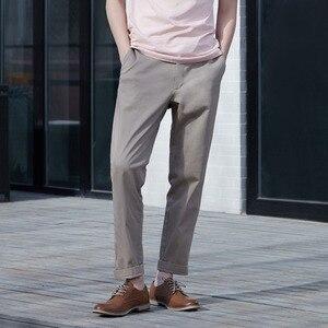 Image 5 - Youpin urbain pantalons décontractés hommes printemps été coton confortable taille moyenne mode mince pour mâle Smart home