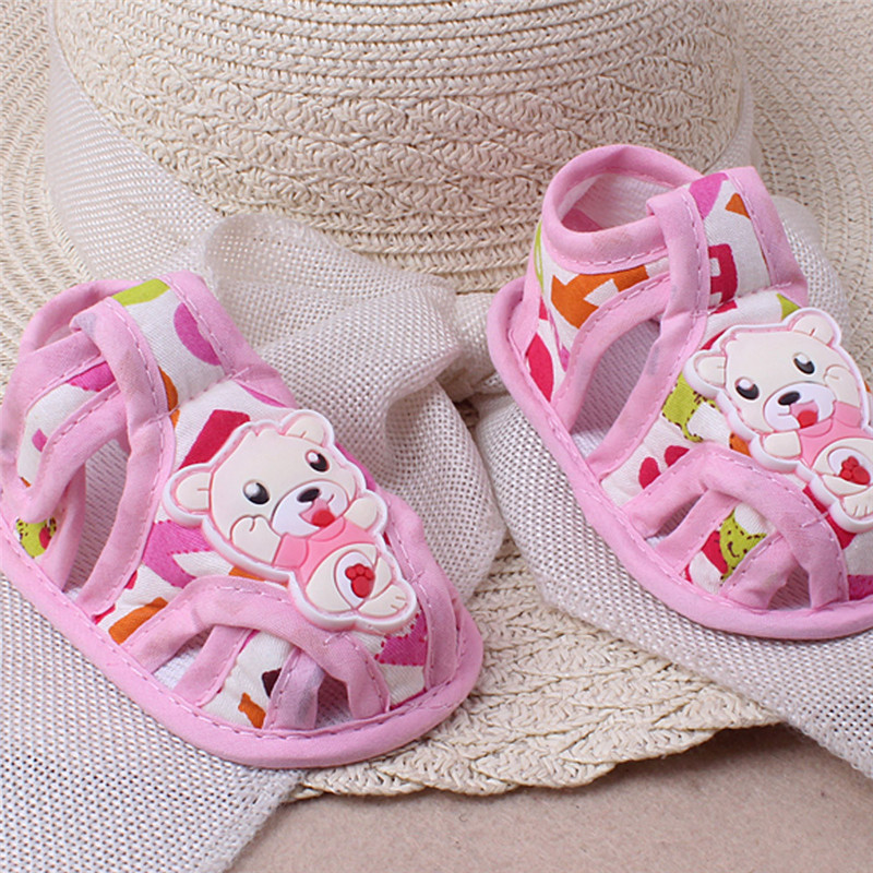 Huang Neeky W#5 2019 NEW Fashion Baby Girl Boy Soft Sole Cartoon Anti-slip Casual Shoes Toddler Sandals Cute Summer Hot