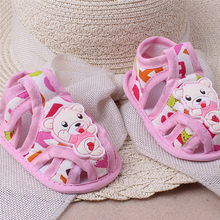 Huang Neeky W#5 2019 NEW Fashion Baby Girl Boy Soft Sole Cartoon Anti-slip Casual Shoes Toddler Sandals Cute Summer Hot(China)