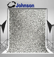 silver glitter sequin backgrounds Vinyl cloth High quality Computer print party photo backdrop