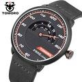 2017 Luxury Brand Racing Watch Men Quartz Analog Hours Genuine Leather Strap Clock Man Sports Watches Fashion Relogios Masculino