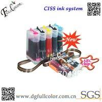 Sistema de suministro de tinta continua envío gratis PIXUS MG5430 PIXUS IP7230 impresora ciss con chip de arco juego de 5 colores printer ciss continuous ink supply system continuous ink system -