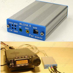 Image 1 - Adapter adaptera USB do komputera YAESU FT 817ND 857D 897D ICOM IC 2720/2820 CAT CW data