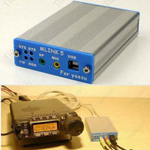 USB PC מקשר מתאם עבור YAESU FT 817ND 857D 897D ICOM IC 2720/2820 חתול CW נתונים