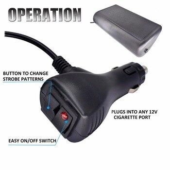 Led Blitzlicht Windschutzscheibe Auto-Signal Notfall Plattform-dash-warnleuchte Feuerwehrmann Polizei Leuchtfeuer Lkw Stroboscopes Blink Licht
