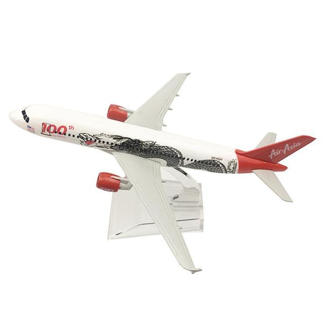 Nova 16 cm Asiático Branco Dragão Liga Modelo de Aeronave De Metal Fundição Série Modelo de Avião Brinquedos Educativos Presente de Aniversário