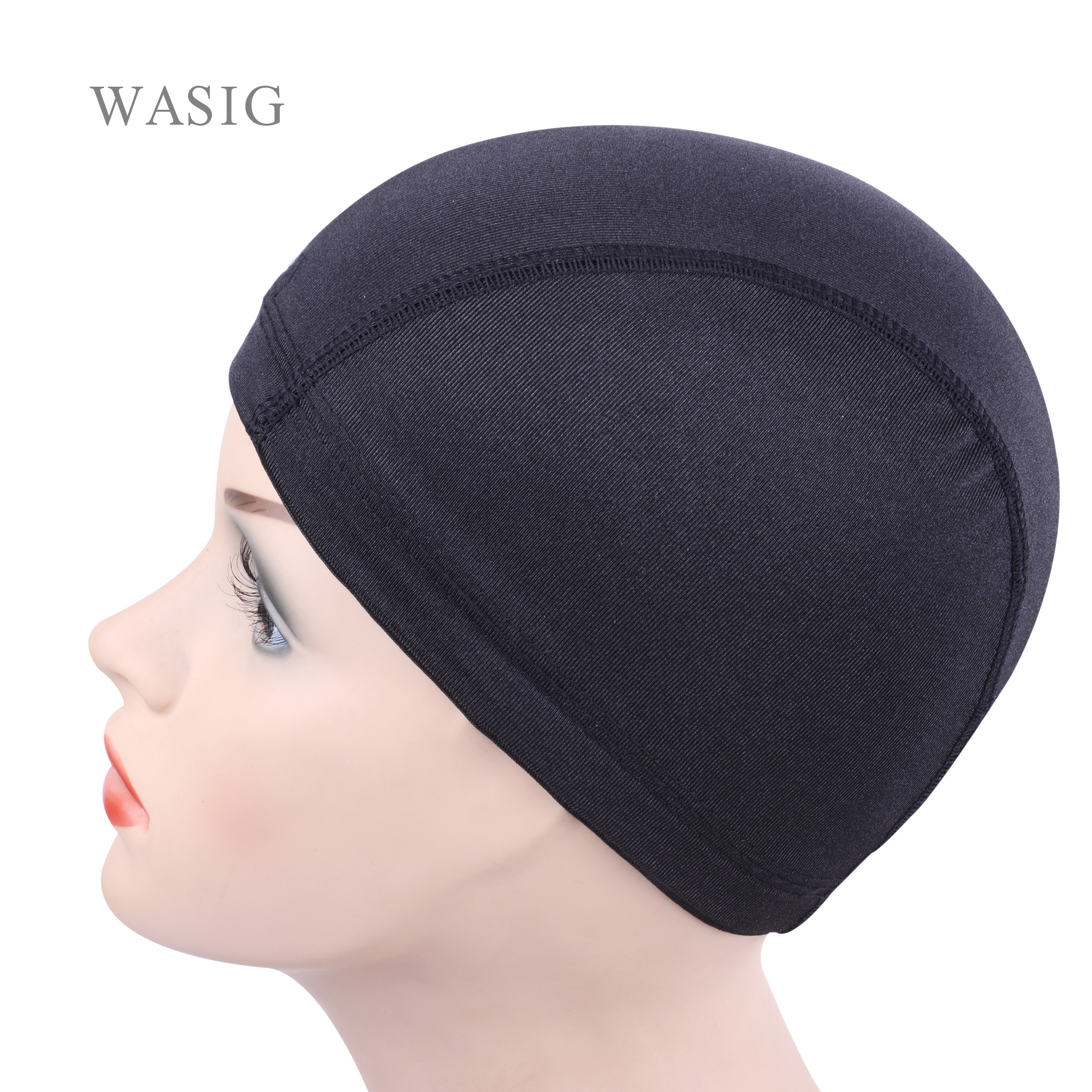 12pcs Glueless Hair Net Wig Liner Cheap Wig Caps For Making Wigs Spandex Net Elastic Dome Wig Cap