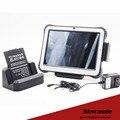 10.1 polegada android 5.1, windows 10 2D de código de barras tablet robusto, industrial painel tablet