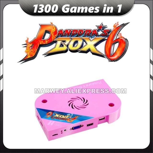 Marwey Pandora's Box 6 HD 1300 in 1 Jamma Multi Arcade Board Support CGA / VGA Pandora HD for Video Arcade Machine Motherboard