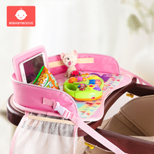 Baby Car Seat Tray Storage Table Stroller Kid Toy Food Holder Mutifunctional Desk Portable Travel Safety Children Car Seat Table