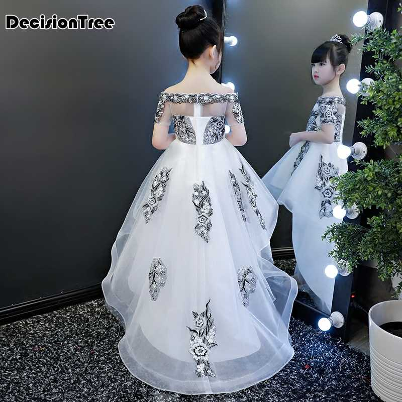 ae5c97721e8 ... 2019 new teenage girl dresses long formal prom gown for kids girls  clothing wedding party tutu ...