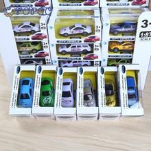 2018 Új 1db Modell Q Mini Pocket Alloy Autó Modell Autók Diecast Metal Alloy Autók Játékok Születésnapi Ajándék Gyermekeknek Fiúk Autók Játékok