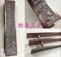 Chinês antigo de madeira maçaneta da porta maçaneta da porta maçaneta da porta de bronze maçaneta da porta de correr de vidro temperado