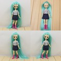 Free shipping Mini Pullip dolls 12CM and Mini blyth dolls 11CM gift 16100819