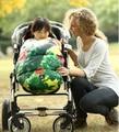 Цветок новорожденных зима babywarmer конверт спальный мешок новорожденного пеленать ребенка коляска спальный мешок 0-18 месяцев