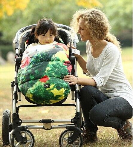 flower newborn winter babywarmer sleeping bag newborn envelope swaddle baby stroller sleeping bag 0-18 months