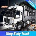 Nueva Lepin 23008 4380 Unids Serie Técnica El MOC Ala Carrocería Del Camión Conjunto de 1389 Bloques de Construcción Ladrillos Niños Juguetes Educativos regalo