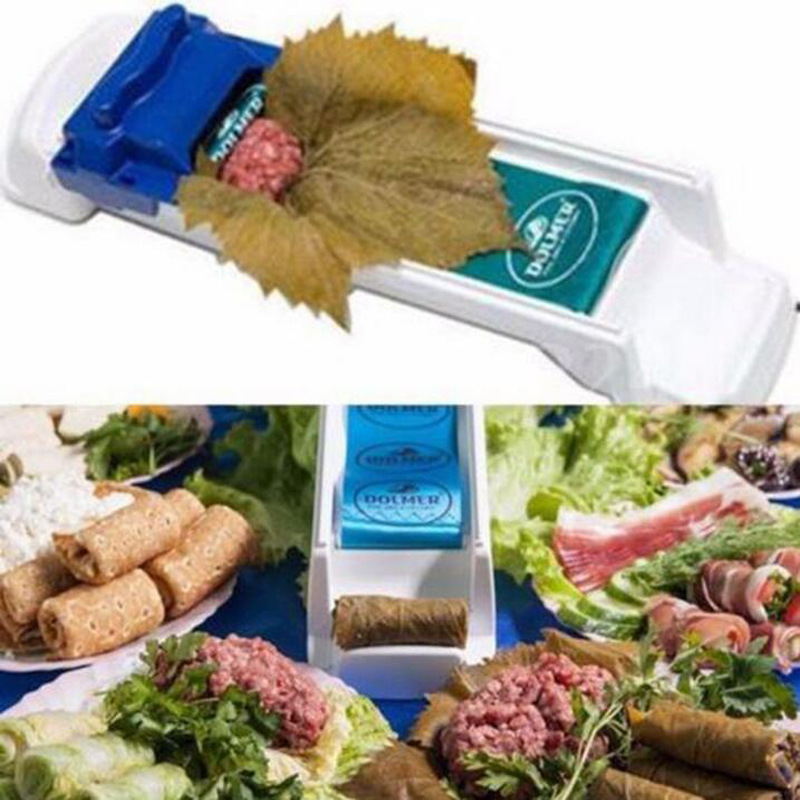 High Quality New Vegetable Meat Rolling Tool Sushi Suite Roller Stuffed Garpe Cabbage Leave Grape Leaf Machine Meat Grinder