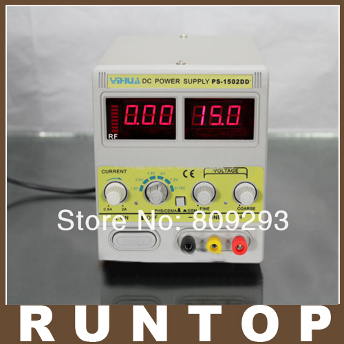 ФОТО 1502DD+ 15V 2A Adjustable DC Power Supply  Mobile phone repair power test regulated power supply