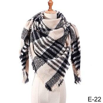 Χειμωνιάτικο τριγωνικό μαντίλι σε διάφορα σχέδια Κασκόλ - Φουλάρια Ρούχα MSOW