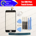 UMI Plus Digitizer Touch Screen 100% Guarantee Original Glass Panel Touch Screen Digitizer For Plus Free Shipping