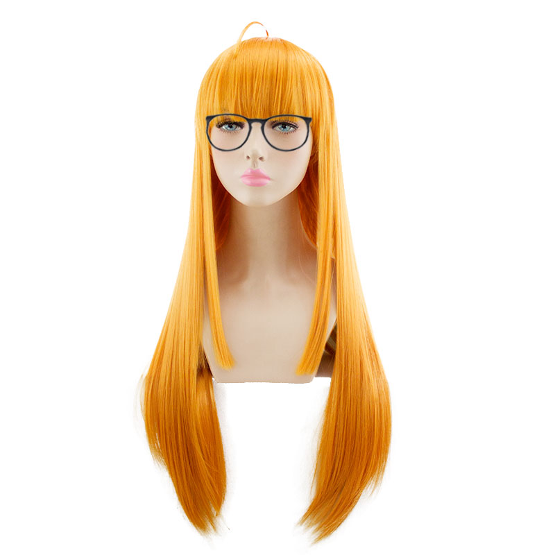 HSIU NEUE Hohe qualität Futaba Sakura Cosplay Perücke persona5 Kostüm Spielen Perücken Halloween Kostüme Haar freies verschiffen