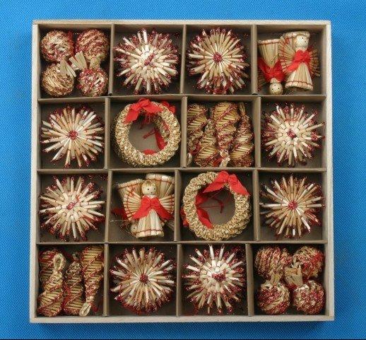 Adornos de árbol de navidad de decoración de navidad 56pcs conjunto - Para fiestas y celebraciones - foto 2