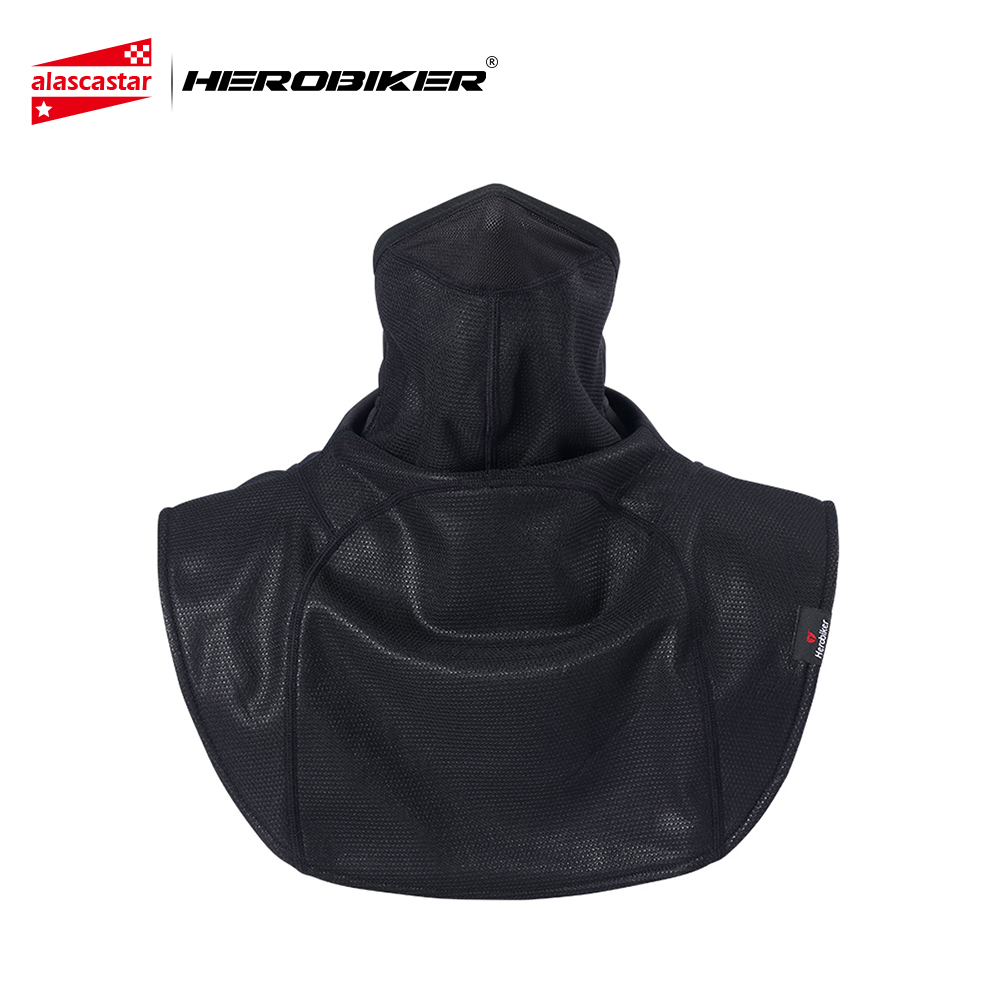 HEROBIKER Motorcycle Face Mask Shawl Windproof Winter Face Mask Thermal Fleece Cycling Mask Moto Scarf Ski Bicycle Bike Mask