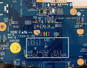 Image 4 - لينوفو ثينك باد T550 w i5 5200U وحدة المعالجة المركزية FRU: 00UR078 LSZ 1 MB 13251 48.4AO12.011 محمول اللوحة اللوحة اختبار