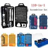110 in 1 Screwdriver Set Multifunctional Repair Tool Glasses Watches Mobile Phones Computers Electronic Devices Repair Hand Tool